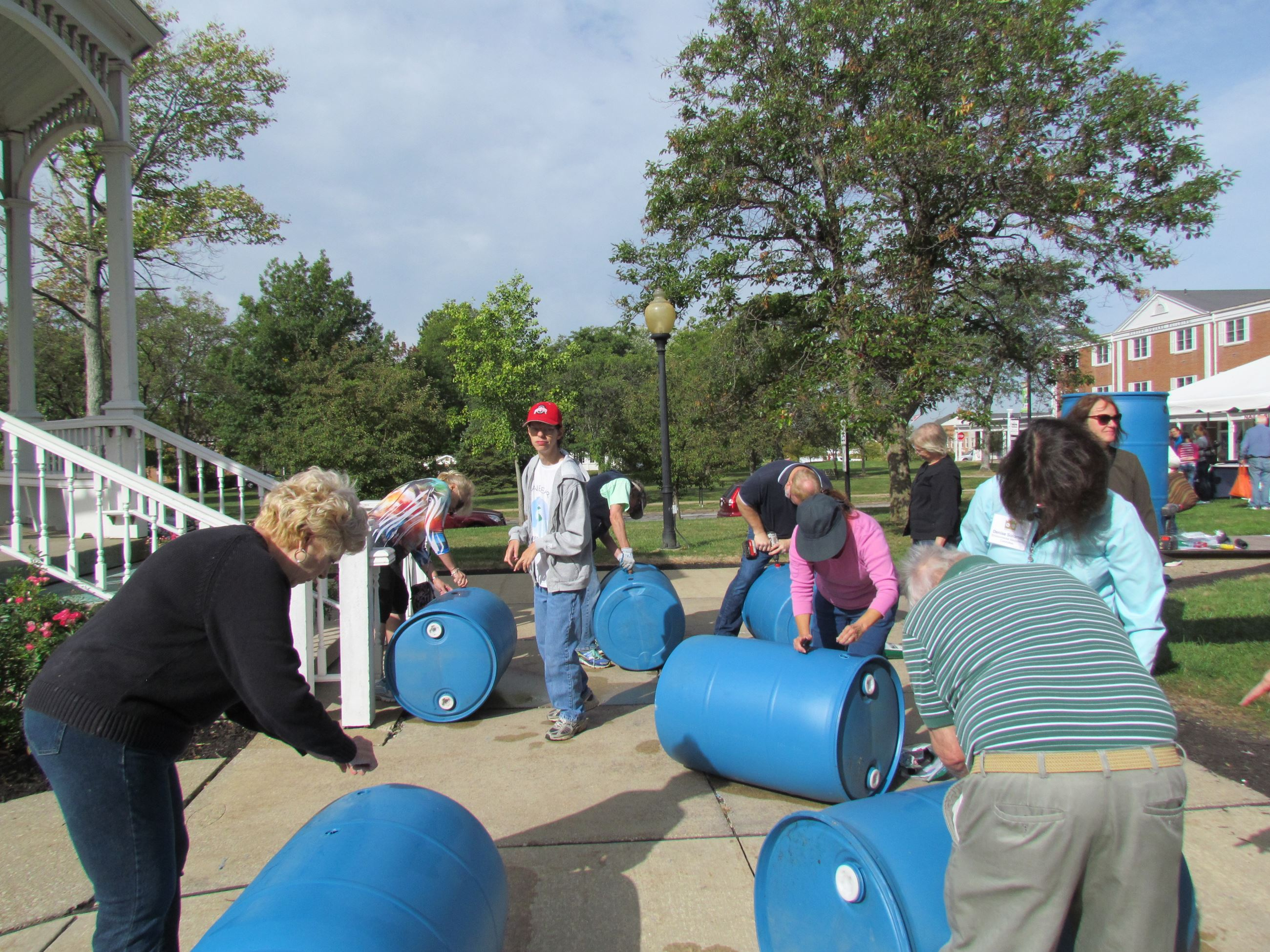 Rainbarrel Workshop.7