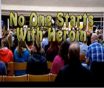 No one starts with heroin 348