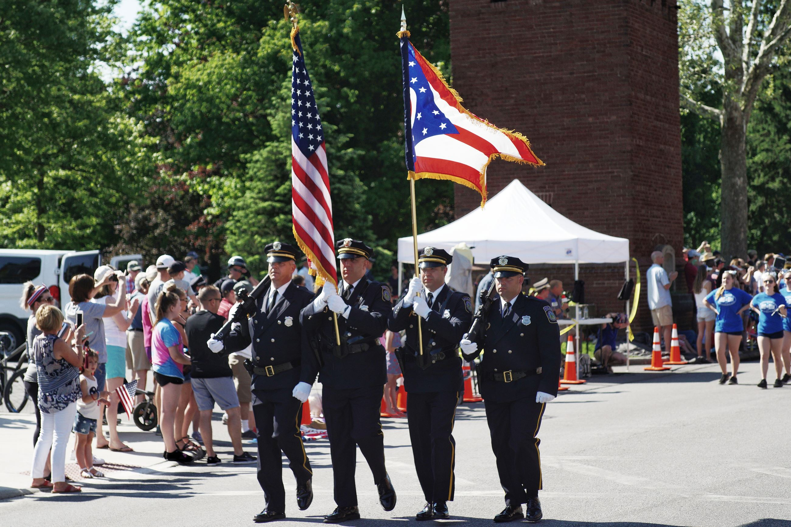 Honor Guard at MemDayParade 2018