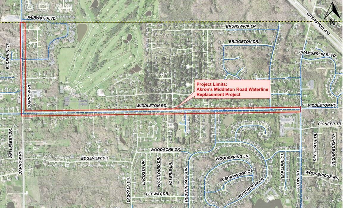 Middleton Road Line Replacement Project