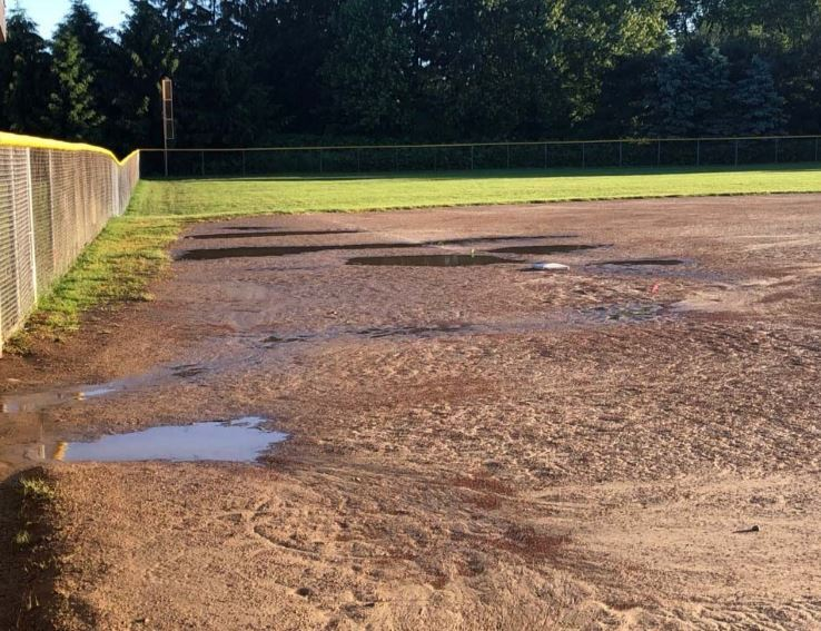 Ball Field Drainage Issue