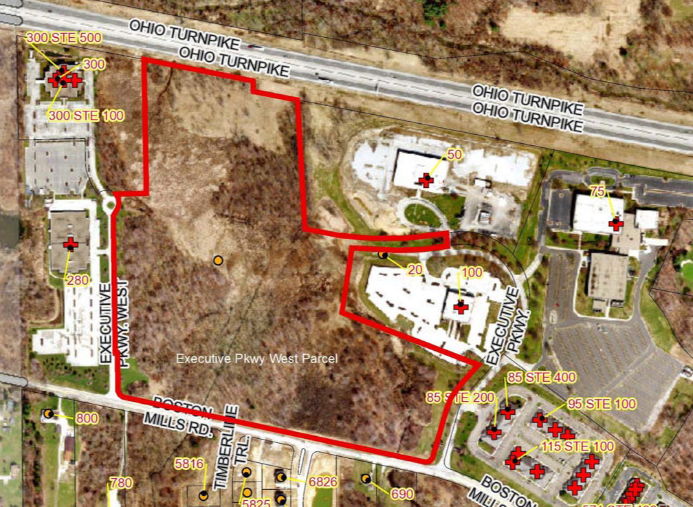 Executive Pkwy Parcel Map