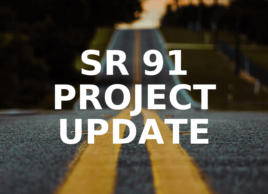 SR 91 Turn Lane Project Update