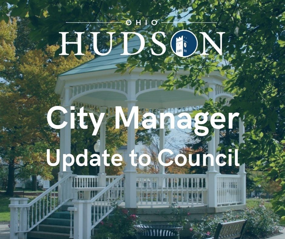 City Manager Update to Council